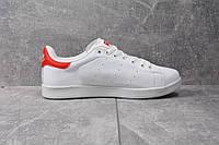 Кроссовки Adidas Stan Smith (Бело-красные), фото 1