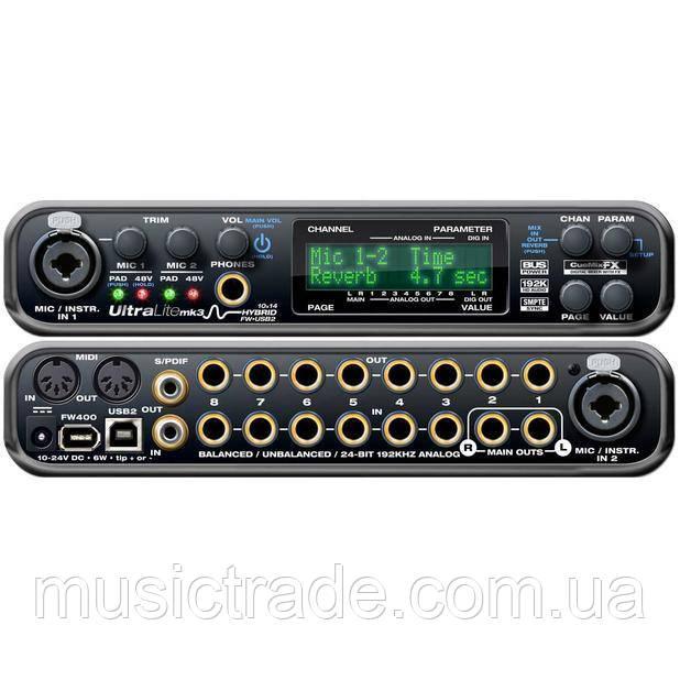 Аудиокарта MOTU Ultralite MK3 Hybrid