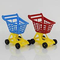 "Гр Тележка для супермаркета 4227 (4) 2 цвета ""ТЕХНОК"""