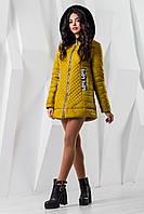"""Р.50,52,54 Демисезонная женская куртка """"Эмилия"""" батал осенняя весенняя теплая с капюшоном большого размера"""