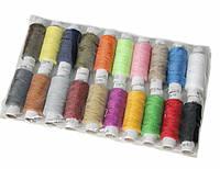 Швейные нитки набор разные цвета 40/2 (20шт)