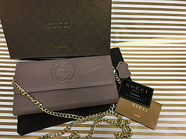 Кожаный кошелек-клатч Gucci 1264