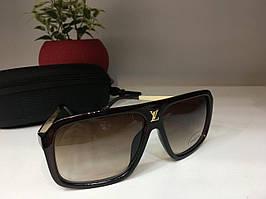 Солнцезащитные очки Louis Vuitton коричневые 1295