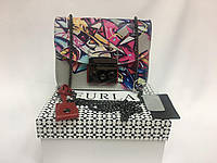 Кожаная ультра модная сумочка Furla new collection 1304