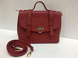 Элегантная женская красная сумочка 1383