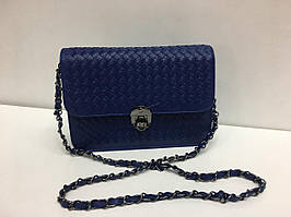 Женская красивая сумочка синего цвета 1384