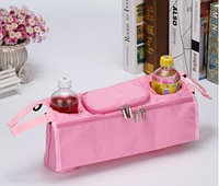 Органайзер для бутылочек и мелочей на ручку коляски