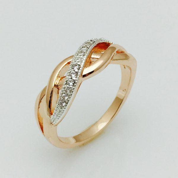 Кольцо на палец Экзотик, размер 17