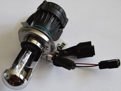 Ксеноновая лампа SL Xenon под цоколь Н4, 35Вт. 6000К.,  разъем KET, AC, фото 2