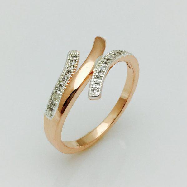 Кольцо на палец Анжель, размер 17, 18, 19, 20