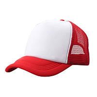 Детская красная бейсболка (кепка) летняя