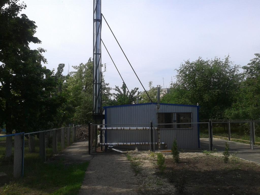 Блочная котельная 300 кВт с котлами ARS 150 LM Харьковская область,школа