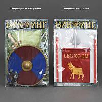Набор рыцаря 6881 /466-873 (24/2) 2 вида, щит, меч, знамя, в кульке