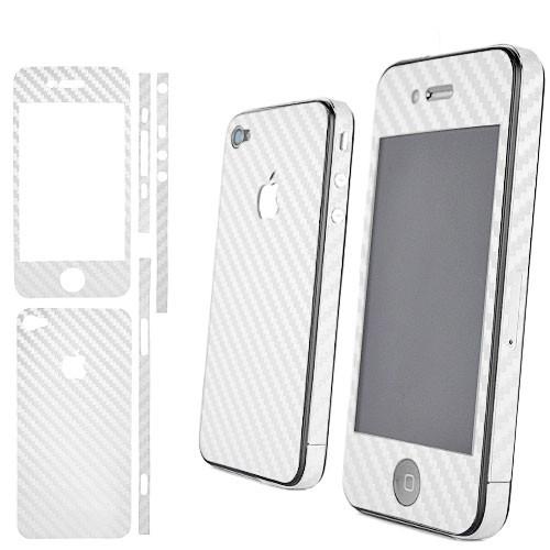 Карбоновая пленка для iPhone 4 4S