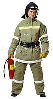 Костюм специальный для пожарного тип б(брезентовый с молескиновыми накладками внутри)