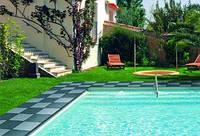 Противоскользящее резиновое покрытие для бассейнов