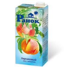"""""""Ранок"""" Сок Персиковый 1л"""