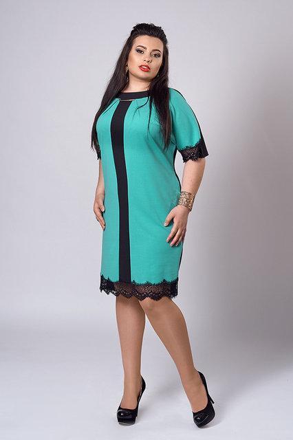 Платье женское батал 283 Платья женские больших размеров