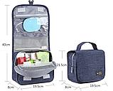 Дорожный органайзер для путешествий 21.5х19.5х8 см., фото 3
