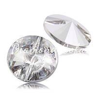 Хрустальные пуговицы 25 мм , Crystal