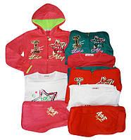 Трикотажный костюм 3 в 1 для девочек оптом ,Goloxy, 116-146 см,  № MQ-669  , фото 1