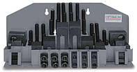 Набор зажимных приспособлений Optimum SPW 8 под пазы 10 мм