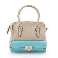 Модная оригинальная женская сумка L. Pigeon , бежевая
