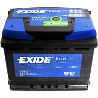 Аккумулятор Автомобильный Exide 62 A (Эксайд) 62 Ач EB621