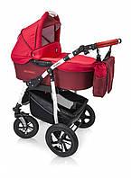 Детская универсальная коляска 3 в 1 Verdi Sonic, 05 красный/красный