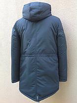 Зимняя куртка-парка монблан для мальчика-подростка, фото 3