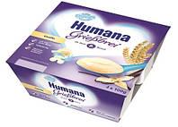 Манный пудинг с ванилью Humana Pudding Griebbrei Vanilla 4x100 грам.