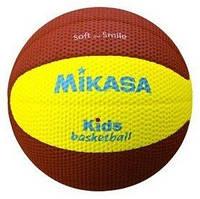 Мяч баскетбольный детский Mikasa SB512-YBR №5 (Оригинал)