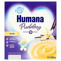 Пудинг ванильный Humana Pudding Vanile 4x100 грам.