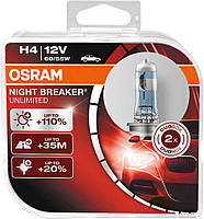 Автолампа OSRAM 64193NBU H4 60/55W 12V P43T 10X2 HardDuopet