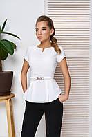 Женская блуза в деловом стиле (2 цвета), фото 1