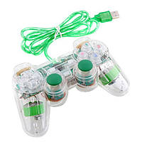Геймпад проводной для ПК K-800 USB 2.0 Mono Shock (зеленый)