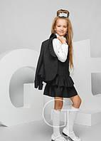Школьные костюмы, жакеты, жилеты для девочек.