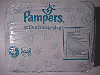 Подгузники Pampers Active Baby-Dry Midi 4 (8-14 кг) Giant Box 44 шт.
