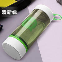 Бутылка для воды со стеклянной колбой. HI. Зеленый