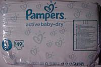 Подгузники Pampers Active Baby-Dry Midi 4 (8-14 кг) Giant Box 49 шт.