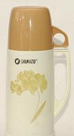 Термос со стеклянной колбой 450 мл Т54, высококачественный термос для напитков