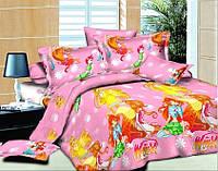 Детский полуторный комплект постельного белья TAG WINX-1, фото 1