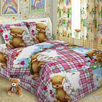 Детский полуторный комплект постельного белья TAG Детство