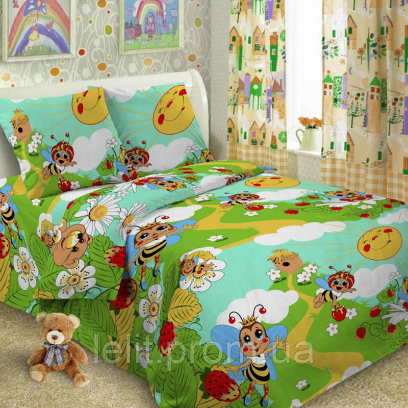 Детский полуторный комплект постельного белья TAG Пчелки