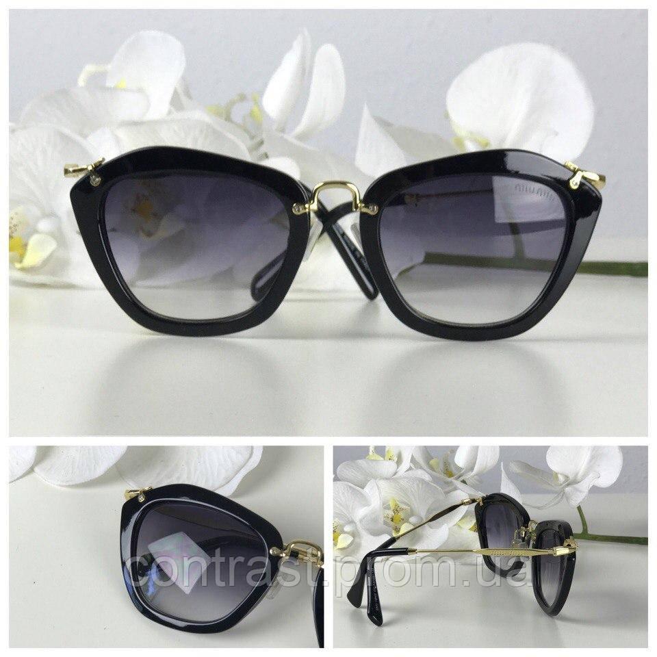 Оригинальные солнцезащитные очки формы pantos с блестящей фурниторой