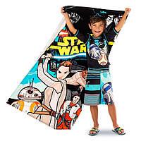 Большое детское полотенце Дисней Star Wars The Force Awakens