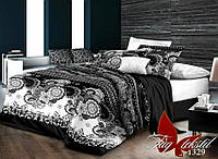 Евро комплект постельного белья R1329