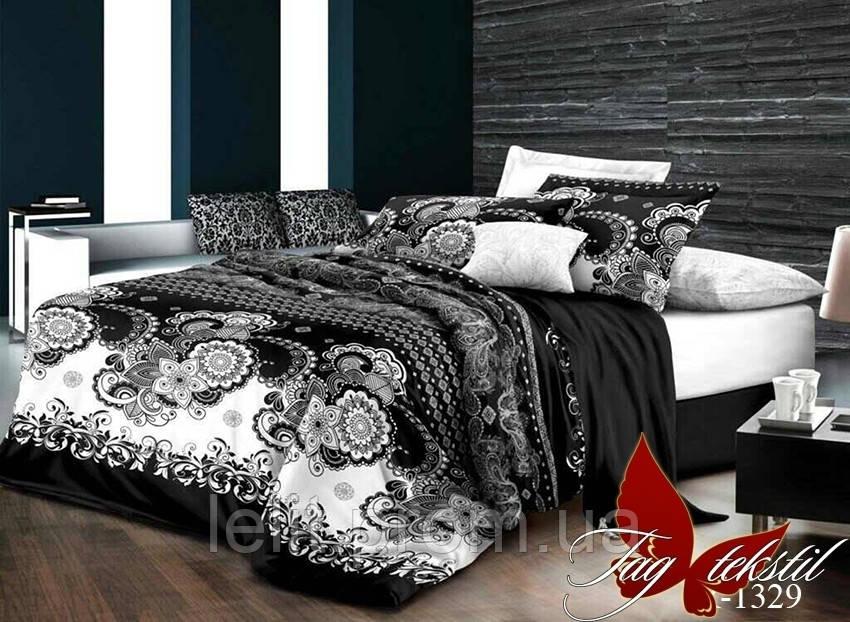 Семейный комплект постельного белья R1329