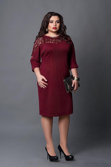 Платье женское батал 508 Платья женские больших размеров