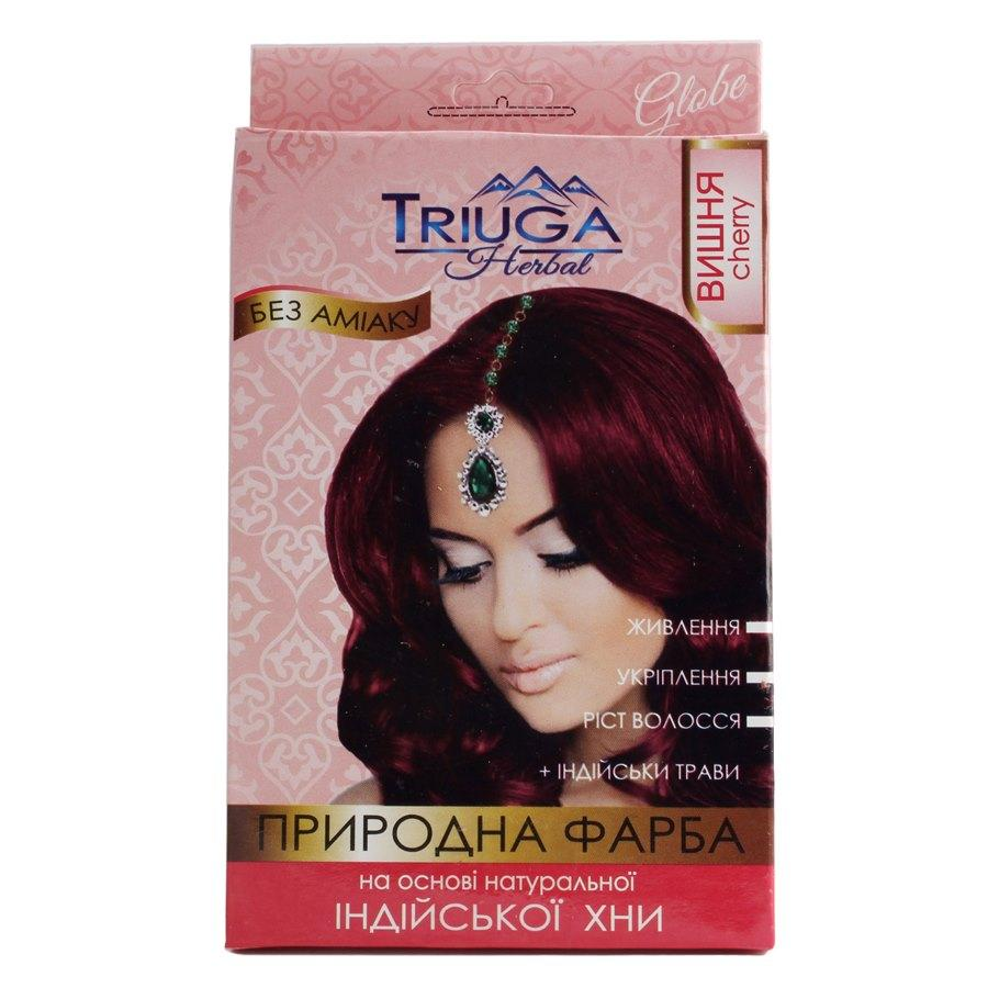 Природная краска для волос на основе хны —Вишня  25г.